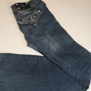 Miss Me Jeans Size 26 Bootcut Good Condition